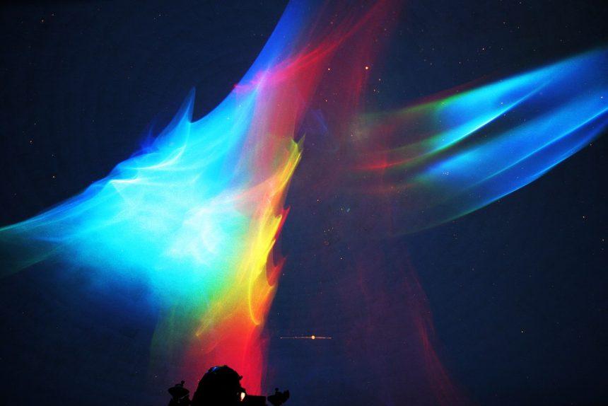 фестиваль horizon лазерно-световое шоу
