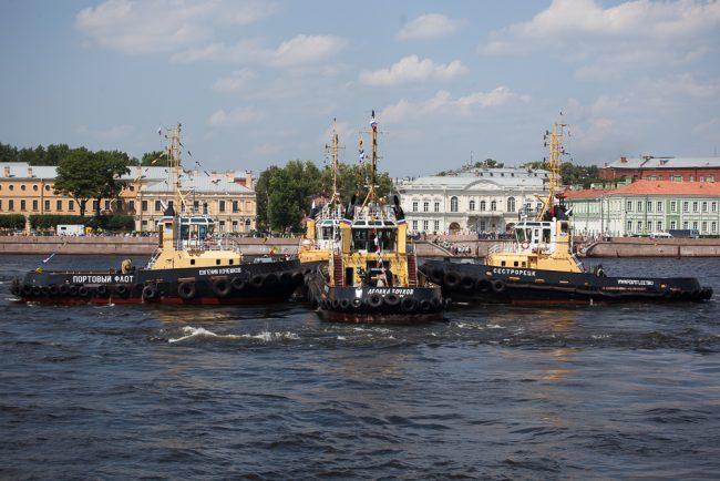 речной карнавал корабли