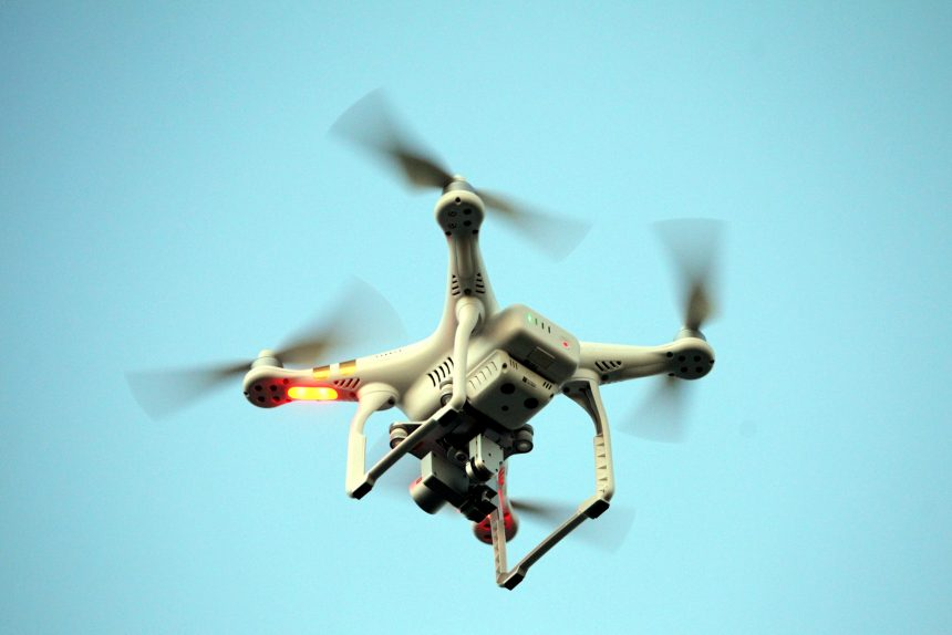 беспилотник дрон квадрокоптер аэрофотосъёмка