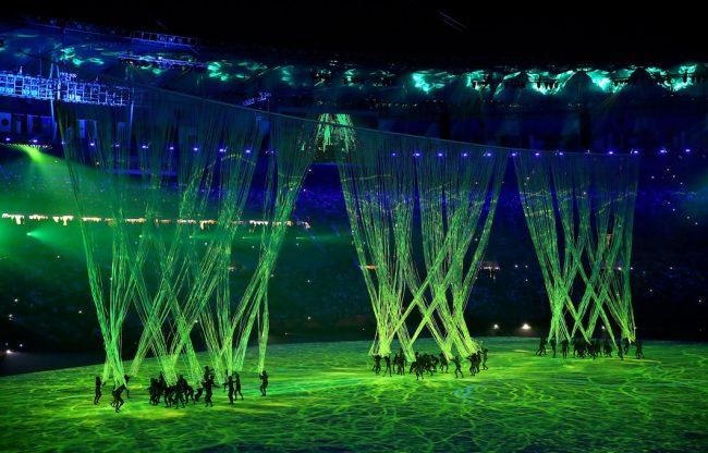 церемония открытия олимпийских игр 2016 рио-де-жанейро