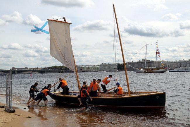 морской фестиваль парусные суда