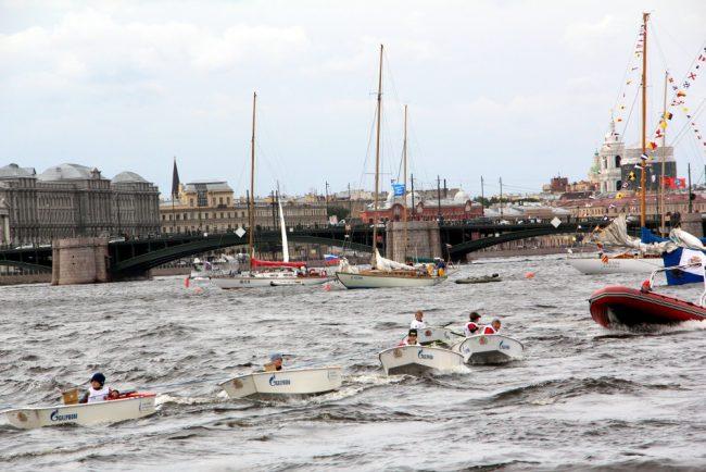 морской фестиваль гребные шлюпки детский спорт