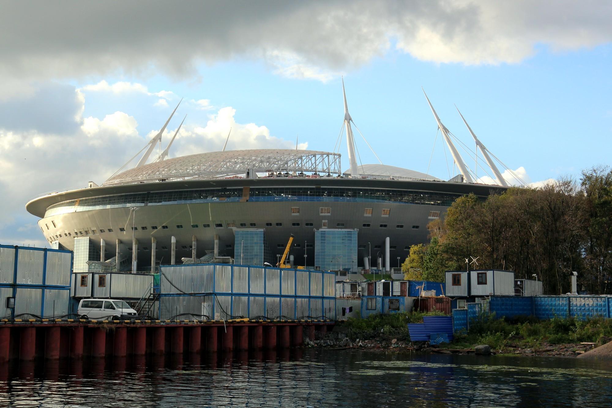 строительство стадиона на крестовском острове зенит-арена
