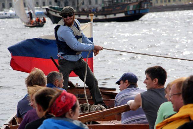 морской фестиваль гребные шлюпки