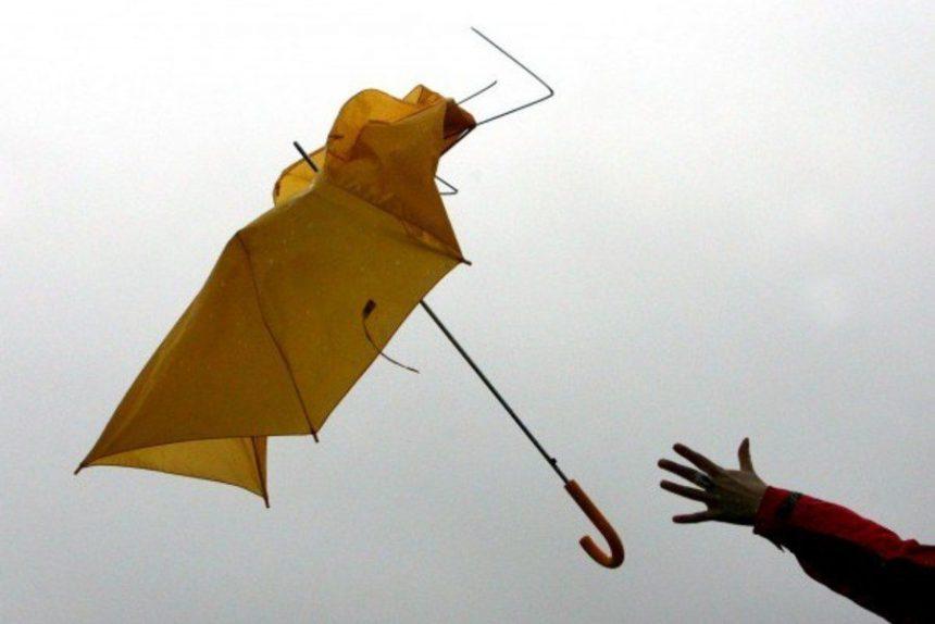 ветер погода зонт