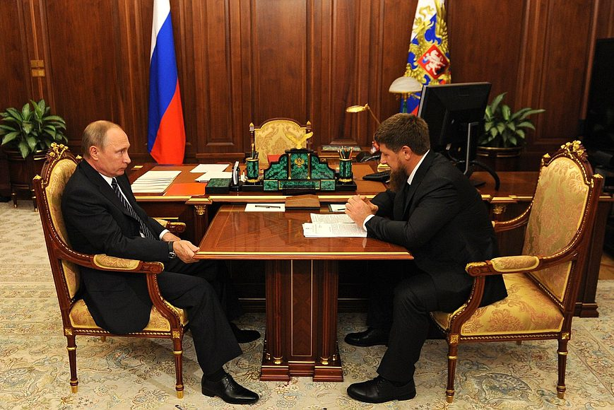 Путин и Кадыров