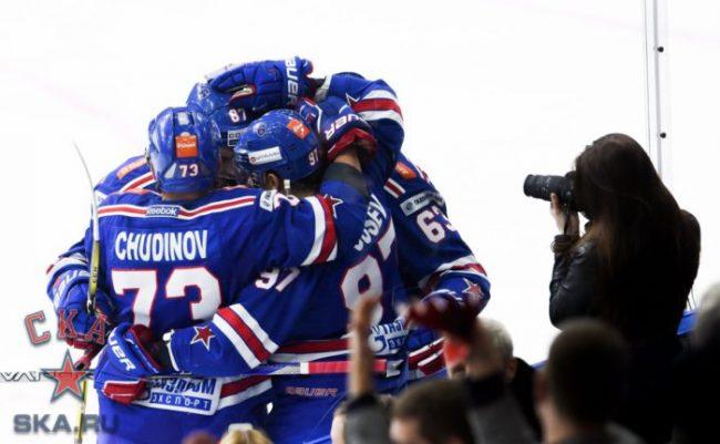 СКА, хоккей, спорт, матч