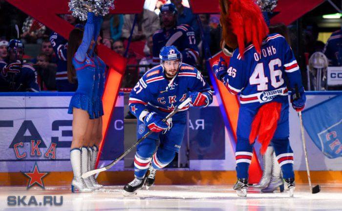 СКА, хоккей, матч, спорт