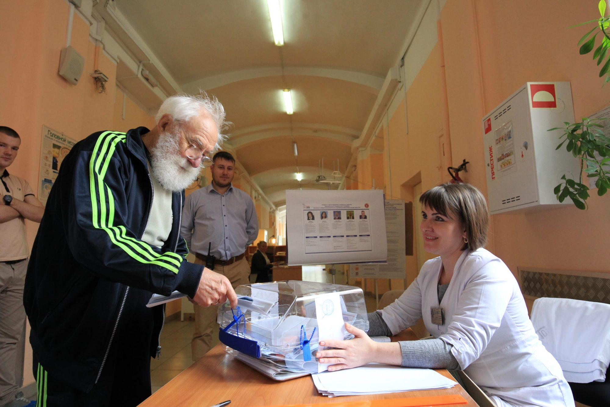выборы 2016 участок 183 в покровской больнице