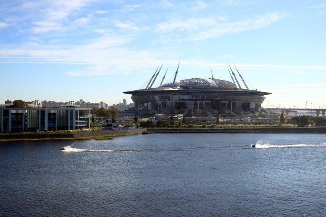 строительство стадиона зенит-арена на крестовском острове