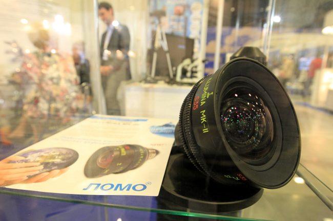 петербургский международный инновационный форум оптика объективы кинематография ломо