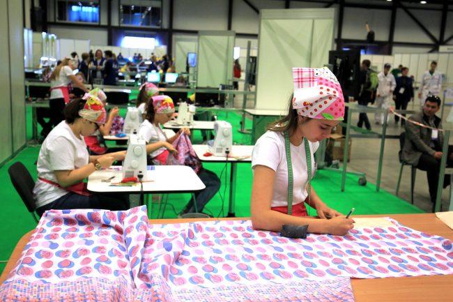 петербургский международный инновационный форум профессии швея швейное производство