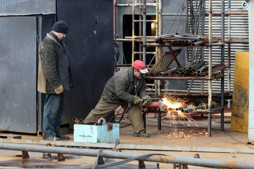 промышленность судостроение балтийский завод сварка рабочие