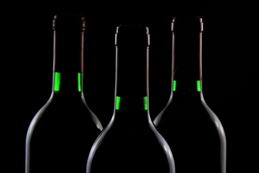 алкоголь, бутылки