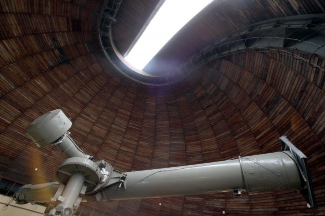 пулковская обсерватория гао ран астрономия телескопы 26-дюймовый рефрактор