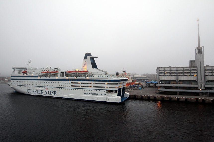пассажирское судно паром принцесса мария princess maria st peter line