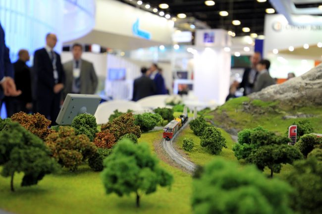 петербургский международный газовый форум поезд модель