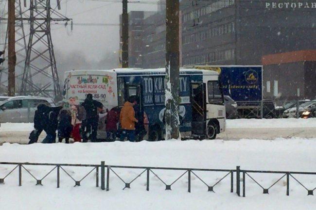 дтп снег