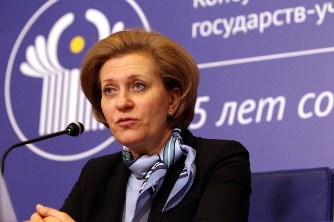 Анна Попова главный санитарный врач глава Роспотребнадзора