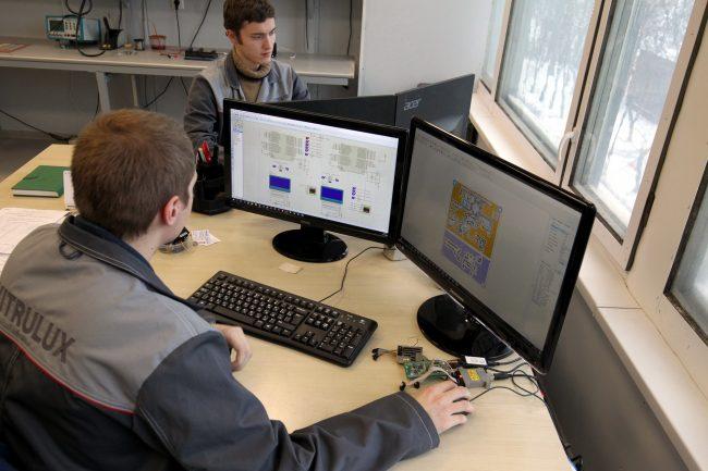 производство светильников vitrulux импортозамещение промышленность электроника разработка
