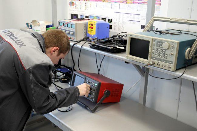 производство светильников vitrulux импортозамещение промышленность электроника осциллограф