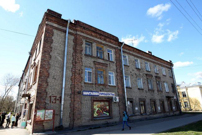 историческое здание 2-я Комсомольская 13