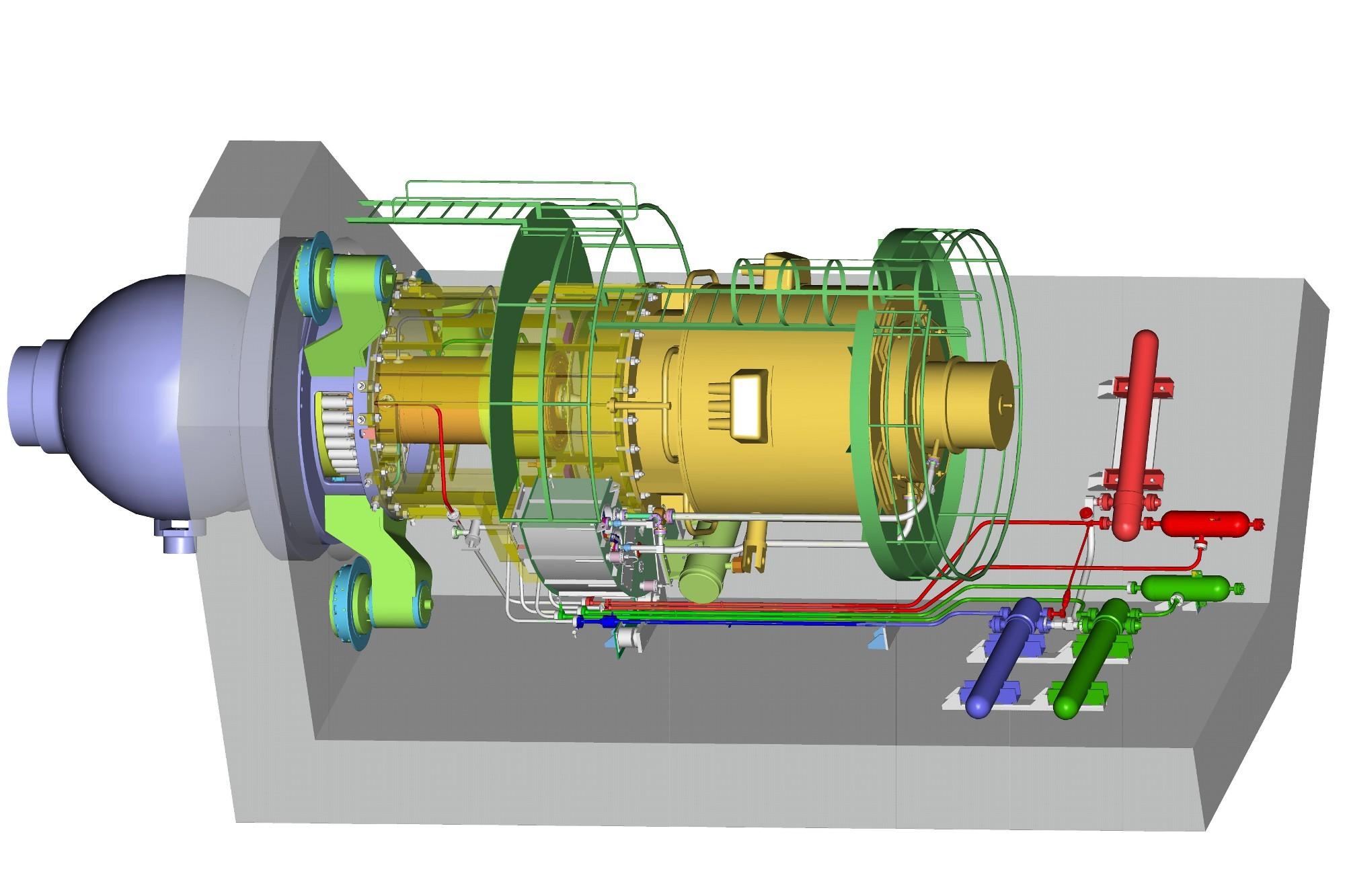 циркуляционный насос гцна-1391 для атомных электростанций аэс