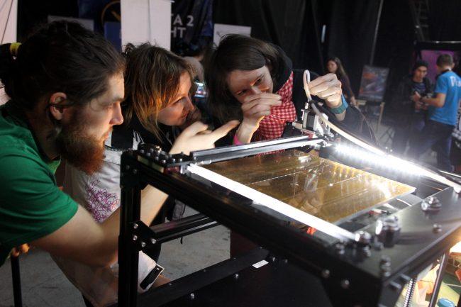 фестиваль науки science fest трёхмерная печать 3d-принтер