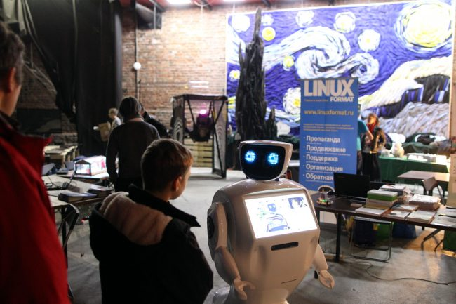 фестиваль науки science fest робот promobot
