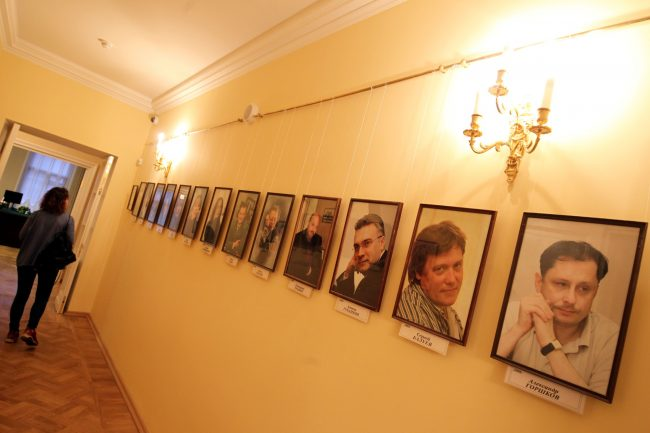 Дом журналиста лауреаты премии Золотое перо