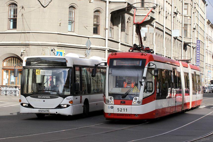 автобус 49 трамвай 3 садовая улица общественный транспорт