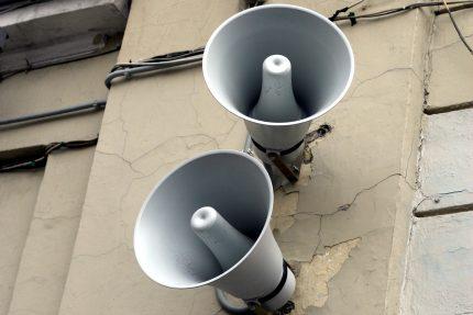 динамики громкоговорители система оповещения