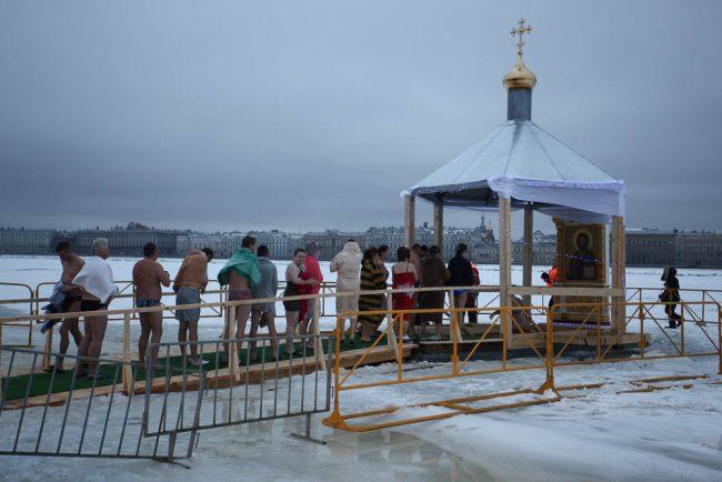 крещенские купания прорубь иордань