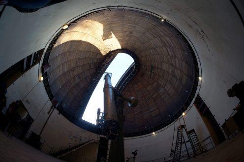 """26-дюймовый рефрактор. Фото: Илья Снопченко / ИА """"Диалог"""""""