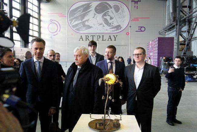 открытие творческого пространства artplay артплей красногвардейская площадь георгий полтавченко