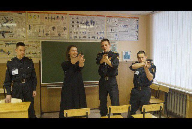 суворовское училище стрельба
