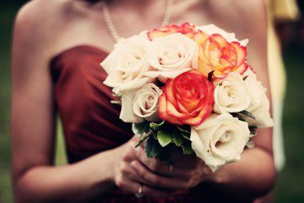 букет цветы девушка свидание