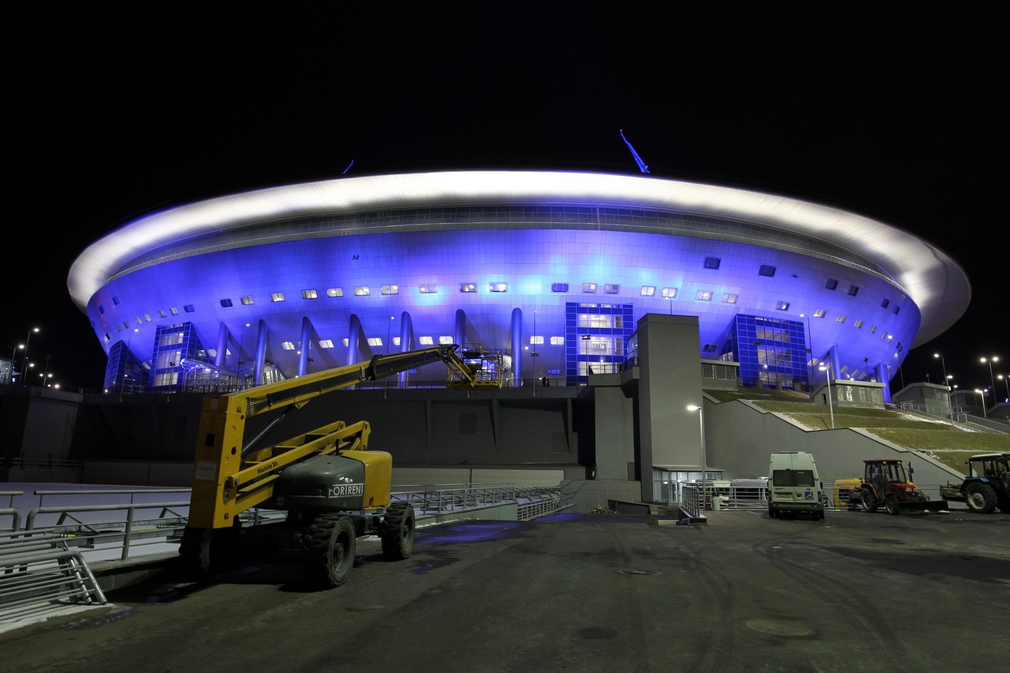 зенит-арена стадион на крестовском острове