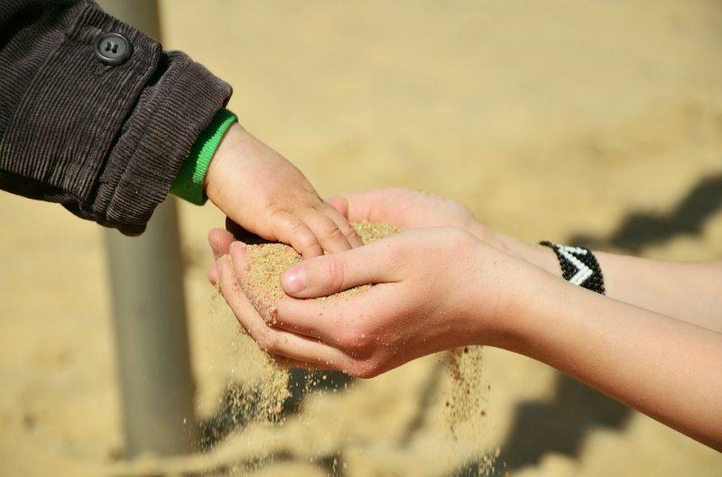 дети руки