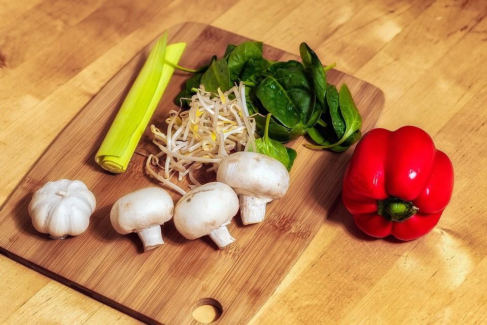 овощи кулинария еда грибы салат