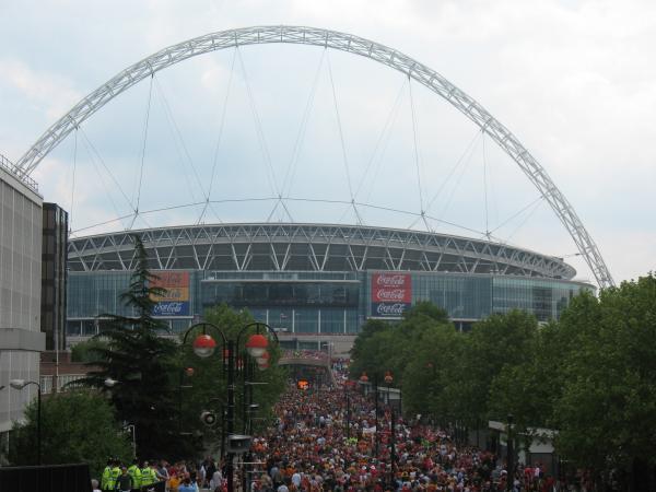 Стадион Wembley. Фото с сайта wikimapia.org