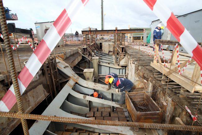 реконструкция тучкова моста зао пилон