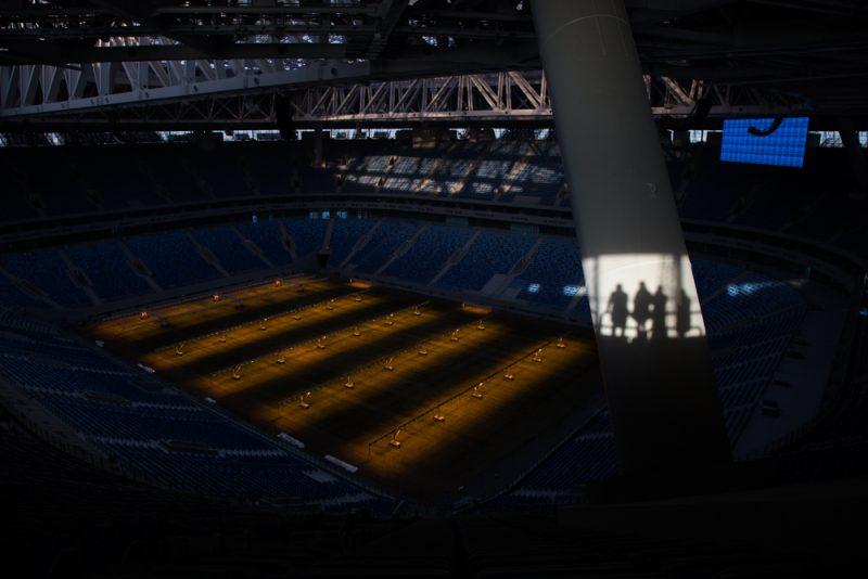 новый стадион зенит