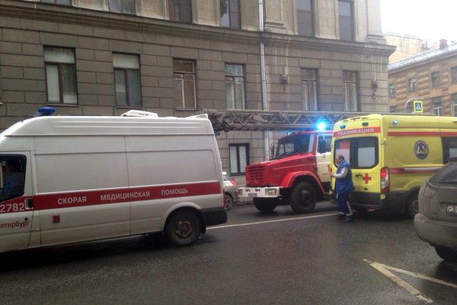 пожарные басков переулок скорая помощь