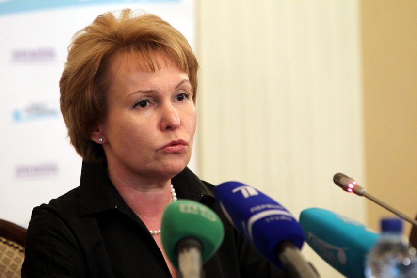 Анна Митянина вице-губернатор
