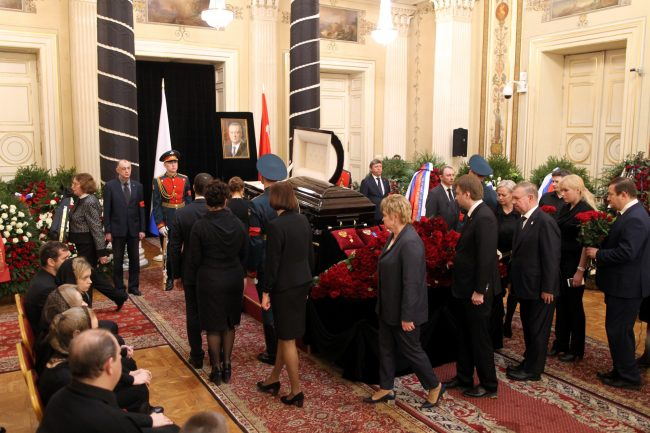 церемония прощания с Вадимом Тюльпановым Мариинский дворец