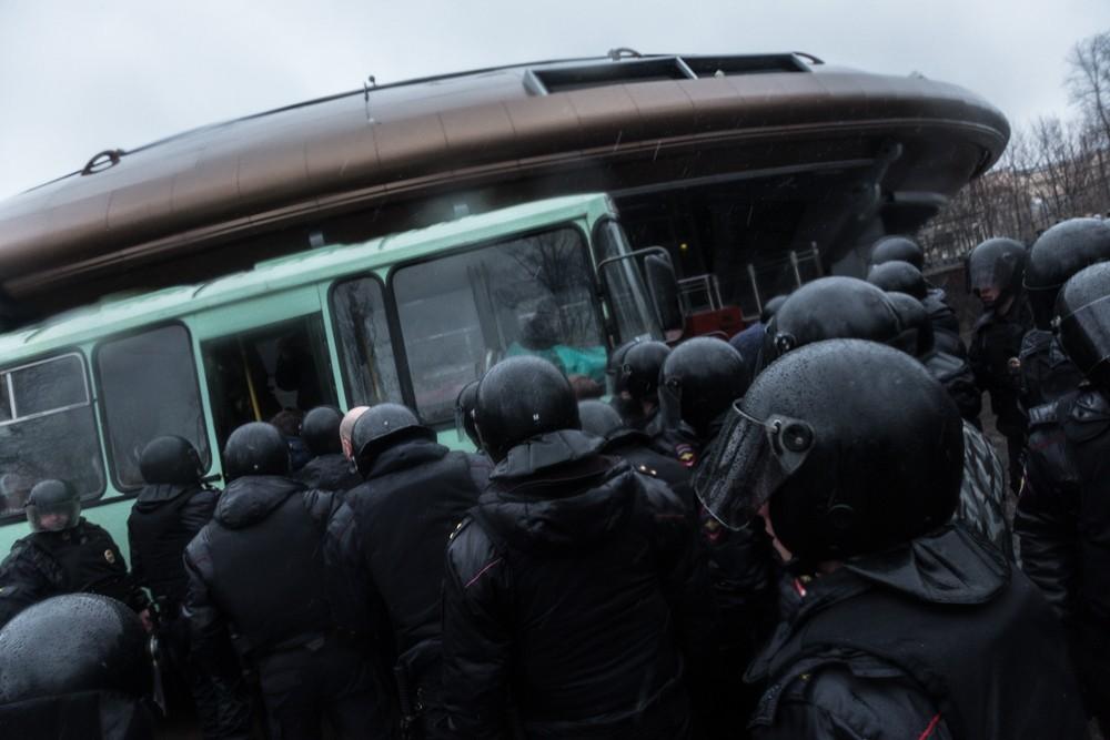 nadoelo_18 полиция задержания митинг надоел горьковская 29.04.2017