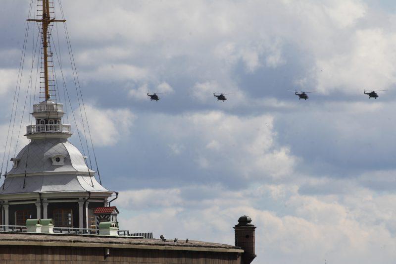 вертолеты день победы 2017