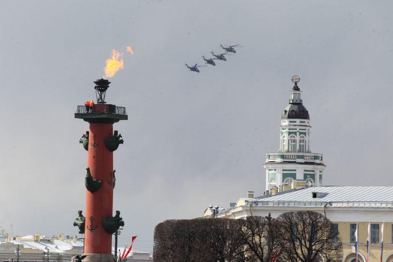вертолёты День Победы 2017