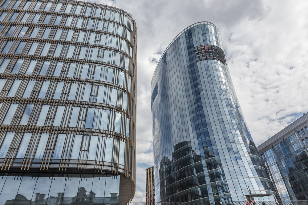 дом-чайник небоскреб бизнес-центр санкт-петербург плаза